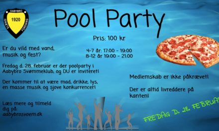 Pool party var en stor succes