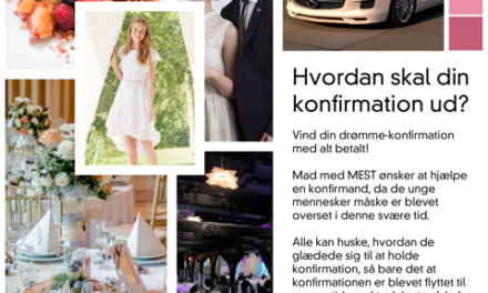 Indstil konfirmand til konfirmation med alt betalt