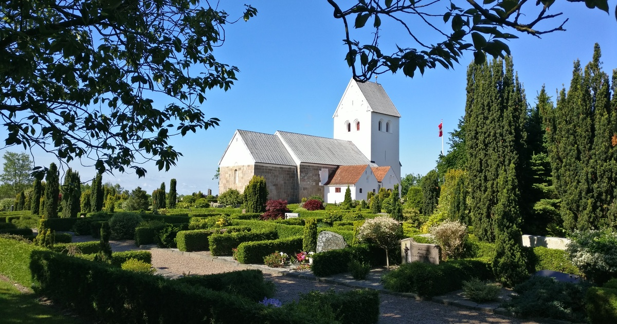 Konfirmation i Biersted Kirke